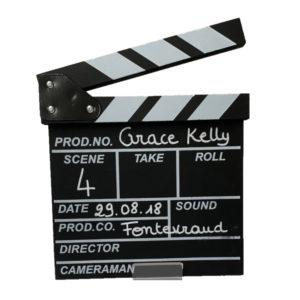location décoration - clap cinéma