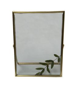 location décoration cadre or transparent