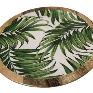 Plateau tropical bois