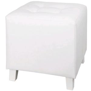 Pouf Lounge White